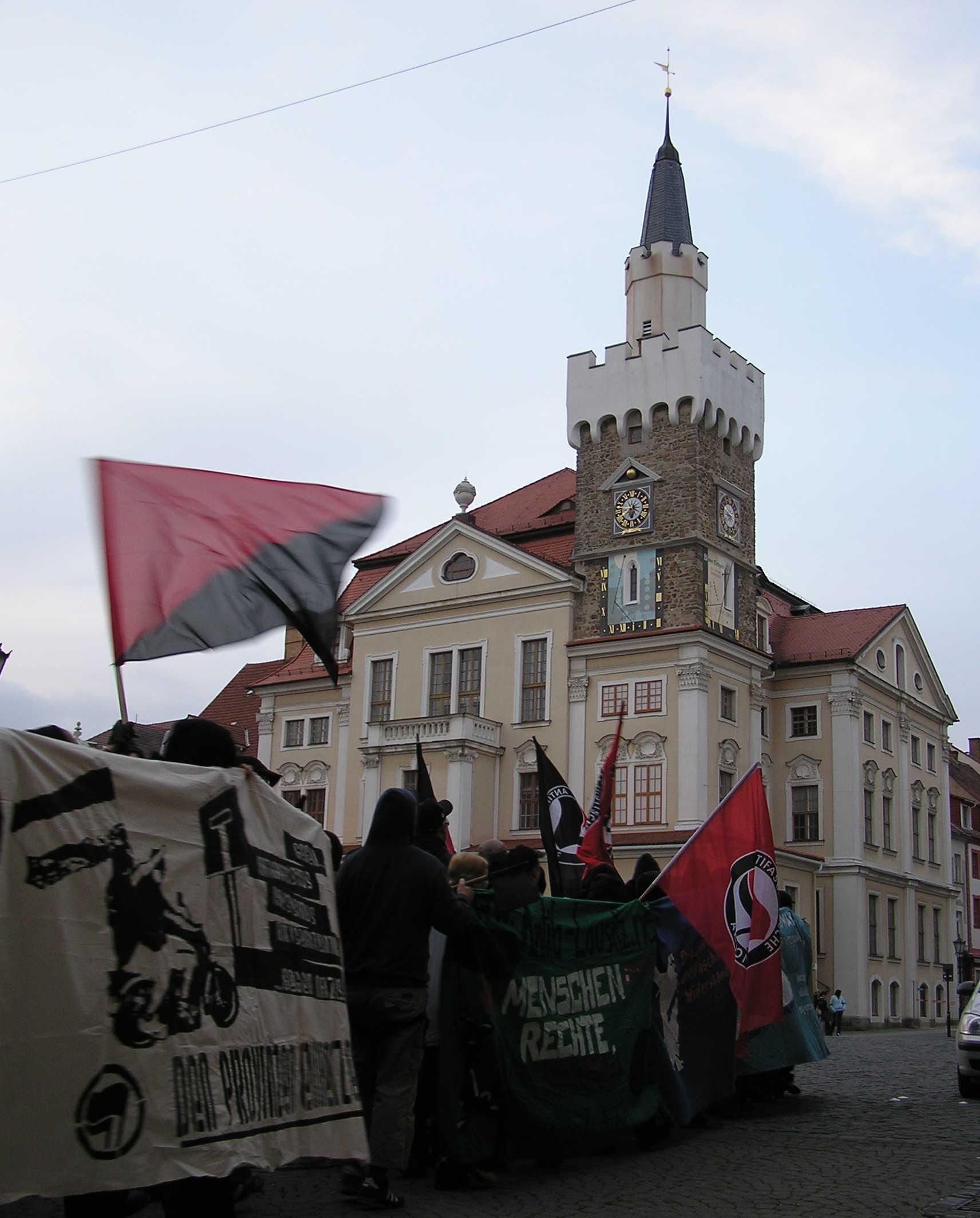 Antifa Block Altstadt